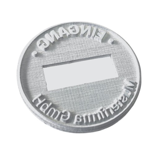 Replacement text plate Trodat date stamp 46145 (incl. ink pad 6/46145)