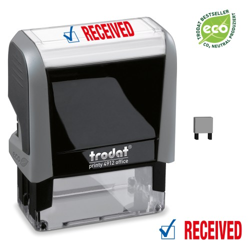 Trodat Office Printy 4912 'RECEIVED'